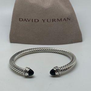 David Yurman Onyx 5mm princess bracelet